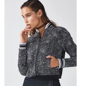 Fabletics work out jacket size M